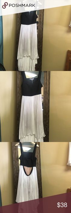 Awesome  Jessica Simpson high low summer dress Awesome Jessica Simpson high low pleated summer dress sz xl Jessica Simpson Dresses High Low