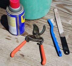 Weekend Gardener: Clean and sharpen ANY pruning shears in 10 minutes or less!