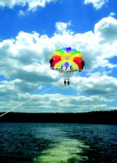 Always wanted to go parasailing? Take flight from Lake Wallenpaupack in the Pocono Mountains, the 3rd largest lake in PA, covering 5,700 acres! Outfitters located around the Lake Region will help you set sail on your bucket list parasailing adventure!