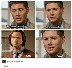 Supernatural 11x08 Just My Imagination | Manicorn - Sam's bitchface, tho...