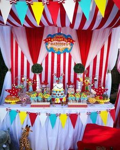 Circus Carnival Birthday Party See More Party Ideas And throughout Brilliant Birthday Party Carnival - Party Supplies Ideas Clown Party, Circus Carnival Party, Kids Carnival, Circus Theme Party, Carnival Parties, Carnival Themed Birthday Party, Circus Wedding, Carnival Tent, Carnival Mask