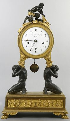 mantel clocks - antique clocks – Vienna - biedermeier – empire - table clocks - Antiques and Fine Arts Stephan Andreewitch
