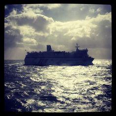 Gerlof du Bois @gerlofdubois | Websta (Webstagram) Ms Friesland @rederijdoeksen op weg van #Terschelling naar #Harlingen #tegenlicht #ferry #boat
