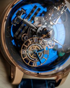 Jacob and Co. Astronomia Sky Celestial Panorama Gravitational Triple Axis Tourbillon Watch Hands-On