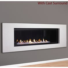 The Aspect Direct-Vent Fireplace | WoodlandDirect.com: Fireplace Inserts, Fireplace Units, Contemporary & Wall Fireplaces
