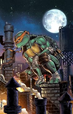 24 hours left before price rise! The Art of Emil Cabaltierra & Comic book coloring by Omi Remalante Jr. have outdone themselves again! Teenage Ninja Turtles, Ninja Turtles Art, Arte Dc Comics, Cartoon Art, Comic Art, Comic Book, Fantasy Art, Anime, Artwork