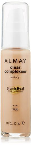 Almay Clear Complexion Liquid Makeup Warm 700 1 Fluid Ounce >>> Find out more about the great product at the image link.
