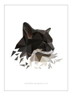 Dolli - Vector Triangle Portrait by darkdade