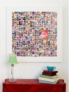 Seamlessly and effortlessly import 365 images (a Picture A Day for a year) and create a stunning conversation piece. Instagram Prints, Instagram Collage, Instagram Display, Photo Mosaic, Instagram Wedding, Photo Displays, Fun Crafts, Our Wedding, Diy Home Decor