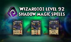 wizard101 shadow spells - Google Search
