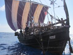 A modern reconstruction of a Phoenician / Mediterranean trading vessel. http://www.phoenicia.org.uk/index.htm
