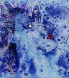 She Had Stars In Her Eyes Mini Canvas by SenseSpirits on Etsy