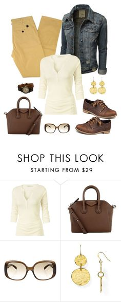 """""""Untitled #943"""" by gallant81 ❤ liked on Polyvore featuring Southern Proper, Fat Face, Givenchy, Tory Burch, Kenneth Jay Lane and BillyTheTree"""