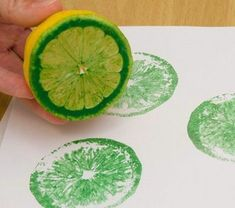 54 clever ideas for crafting with children in the summer!- 54 kluge Ideen für Basteln mit Kindern im Sommer! tinker-with-kids-in-summer-lemon-green-color-super-design - Lemon Green Colour, Green Colors, Diy For Kids, Crafts For Kids, Arts And Crafts, Diy Crafts To Do, Simple Art, Easy Art, Summer Crafts