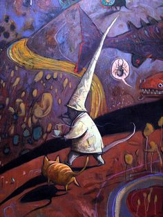 Shaun Tan mural detail 3 | Flickr: Intercambio de fotos