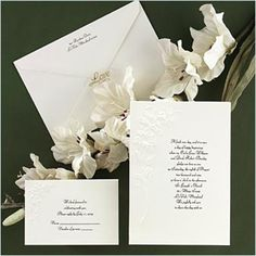Lovely Lilies - Invitation