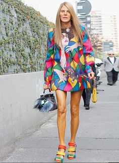 Anna Dello Russo | The Best of Milan Fashion Week Street Style ...