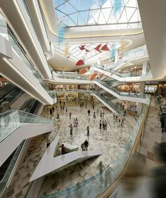 Pin by guo jimmy on shopping mall design торговый центр, арх Shopping Mall Architecture, Shopping Mall Interior, Shopping Malls, Retail Interior, Mall Design, Retail Design, Entertainment Room, Atrium, Shopping Center