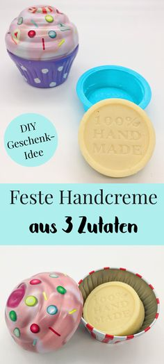 DIY Kosmetik als Geschenkideen. So einfach könnt Ihr Euch Kosmetik selber mache… DIY cosmetics as gift ideas. It's so easy to make your own cosmetics. Make your own hand cream or firm body lotion yourself – the perfect DIY gift for your mum or your. Diy Gifts For Mom, Diy Gifts For Boyfriend, Homemade Gifts, E Cosmetics, Handmade Soaps, Diy Makeup, Makeup Ideas, The Body Shop, Hacks