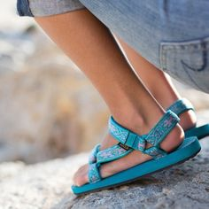 We're counting down the days to music festival season, which means poolside parties and the perfect pair of Lizard Print Teva Originals.