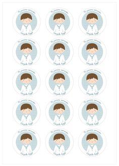 Ver producto: Modelo nº Niño de comunión Communion Centerpieces, First Holy Communion, Free Printables, Harry Potter, Silhouette, Party, Eucharist, Angels, Punch
