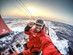 February, 2015. Leg 4 onboard Dongfeng Race Team. OBR Sam Greenfield - Sam Greenfield/Dongfeng Race Team/Volvo Ocean Race