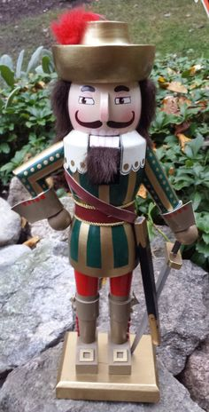 Nutcracker Soldier by NorthernVintageFinds