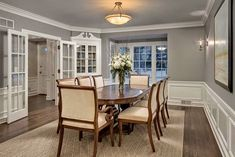 love love @benjamin_moore Ozark Shadows for dining rooms. Adds some elegant modern charm @homewithkeki