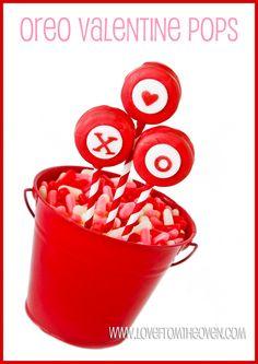 Oreo Valentine Pops Inspiration...great presentation!