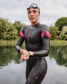 Open Water Swimming, Womens Wetsuit, Second Skin, Triathlon, Stay Fit, Surfing, Training, Suits, Sexy