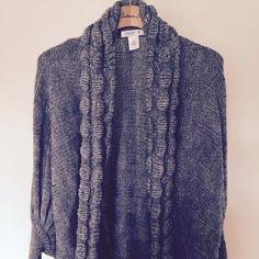 Open cardigan sweater, never worn Gray Cardigan sweater Arden B Sweaters Cardigans
