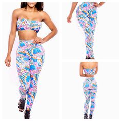 NEW ARRIVAL SEXY BANDAGE WOMEN 2 PIECE FLORA PRINT SLEEVELESS STRAPLESS MAXI SPANDEX BODYCON JUMPSUITS ROMPERS JUMPSUITS