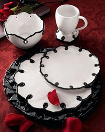 maybe... I need a new set of dishes, has to be black & white and has to be cute but husband friendly