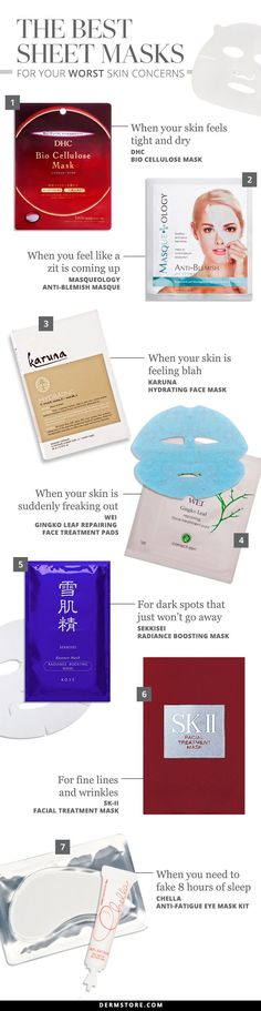 FOUND: The Best Sheet Mask for Your Worst Skin Concern!
