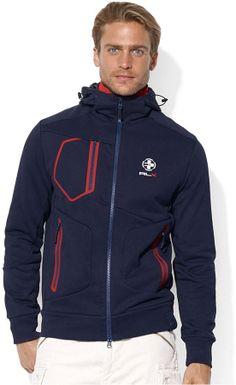 Polo Ralph Lauren Jacket, Compact Fleece Hooded Jacket on shopstyle.com