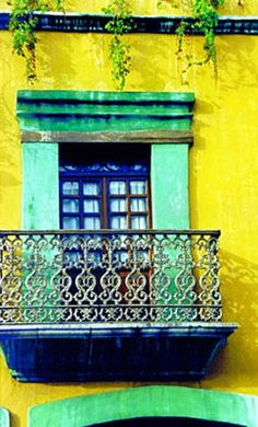Oaxaco, Mexico window