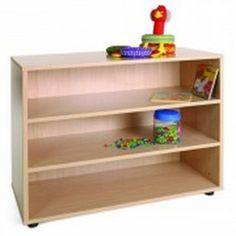 Mueble escolar bajo estantería