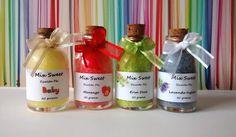 Lembrancinha personalizada Mini Escalda Pés - 30 gramas  Vários aromas.  http://mixsweets.elo7.com.br