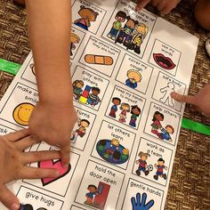 Teaching about our classroom to rules at a class meeting with visuals. At the end they turned and talked with a friend about their favorite… Kindergarten Classroom Rules, Preschool Rules, Preschool Behavior, Preschool Centers, Classroom Behavior, Preschool Curriculum, Classroom Fun, Future Classroom, Preschool Ideas