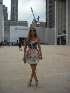 Anna Dello Russo at the New York Fashion Week - http://olschis-world.de/  #Streetstyle #Womenswear #Fashion