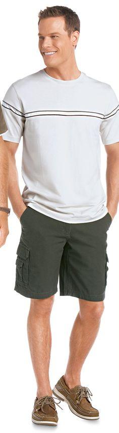 Brett Hollands for Kmart (2010) #BrettHollands #supermodel #model #Canadian #FordModels #FordModels_Chi #NextModels #shorts #loafers #smile #tee #teeshirt #tshirt