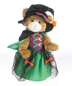 Another great find on #zulily! Halloween Cat Plush Figurine #zulilyfinds