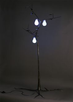 Floor Lamps Inspired By Nature