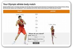 Find your Olympic athlete 'body match' twin. And other fun stories. #TheDailySpin