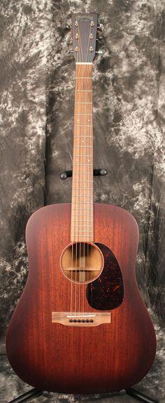 2014 Martin 15 Series D-15M Burst Dreadnought Acoustic Guitar