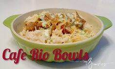 Cafe Rio inspired recipes, cilantro lime rice, cilantro dressing and sweet pork with Coke