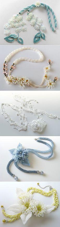 Невесомая нежность от Kazari Sakuiro | Все о рукоделии: схемы, мастер классы, идеи на сайте labhousehold.com
