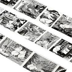 【ムーミン】マスキングテープ(クラシックシリーズ/アートシーン)moo-cl001