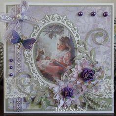 Voorbeeldkaart - Verjaardagskaart - Categorie: Scrapkaarten - Hobbyjournaal uw hobby website