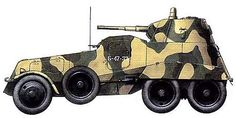 Русские броневики. Советский тяжелый бронеавтомобиль БА-11, pin by Paolo Marzioli